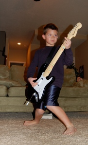 This boy can rock!