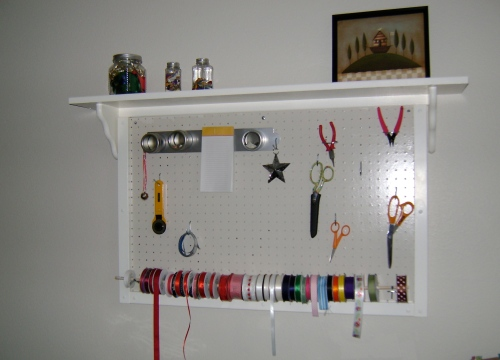 Pegboard creation