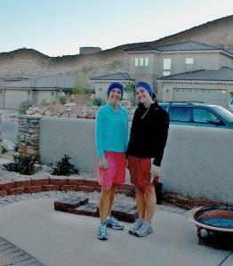 Early morning runners - November 2007