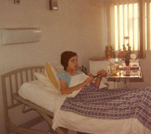 My room in Sepahan Hospital