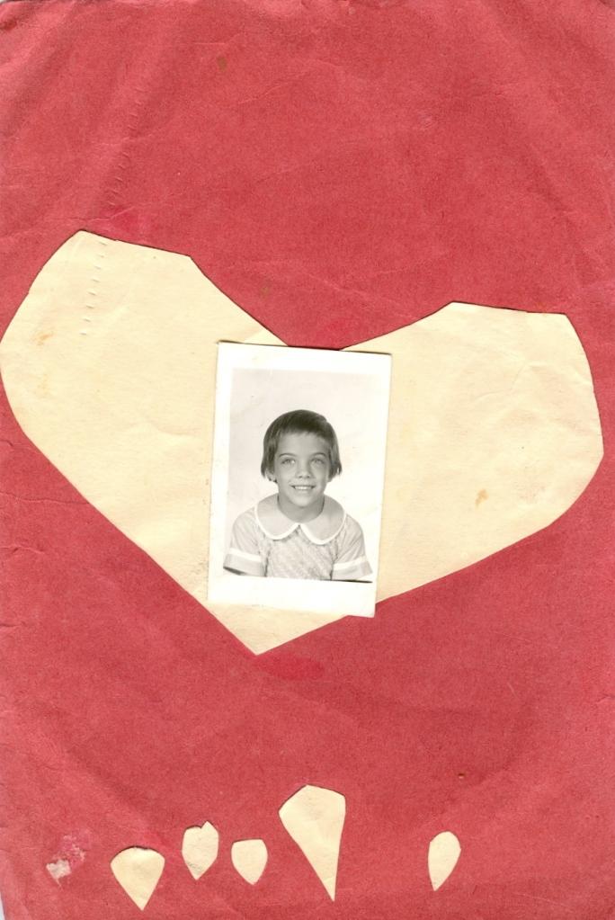 Handmade Valentine - 1959 or 1960
