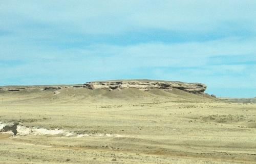 Colorado landscape on Highway 85