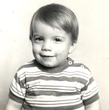 First passpor picture - December 1979