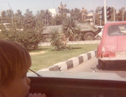Martial law enforcers - October 1979
