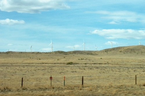 Wyoming landscape - Interstate 80