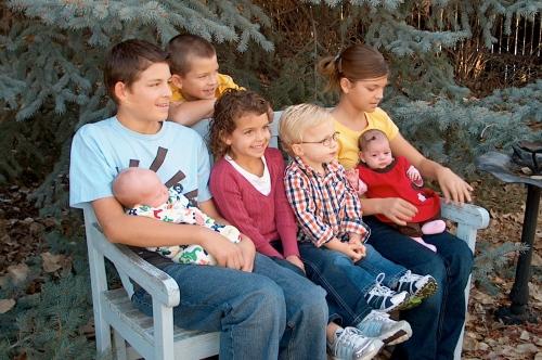 Cute Butler grandchildren