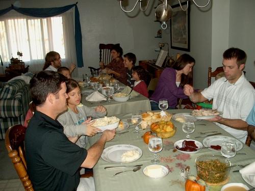 Family Thanksgiving - 2009