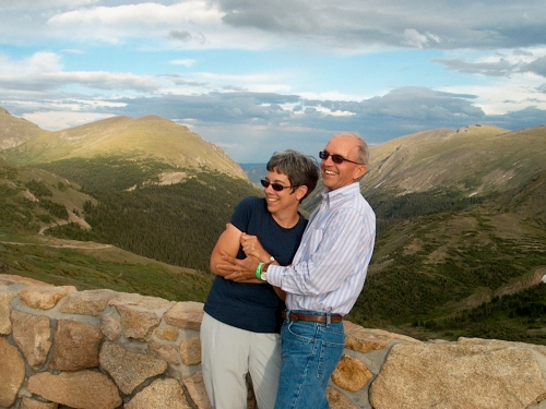 at the top of Trail Ridge Road - August, 2009