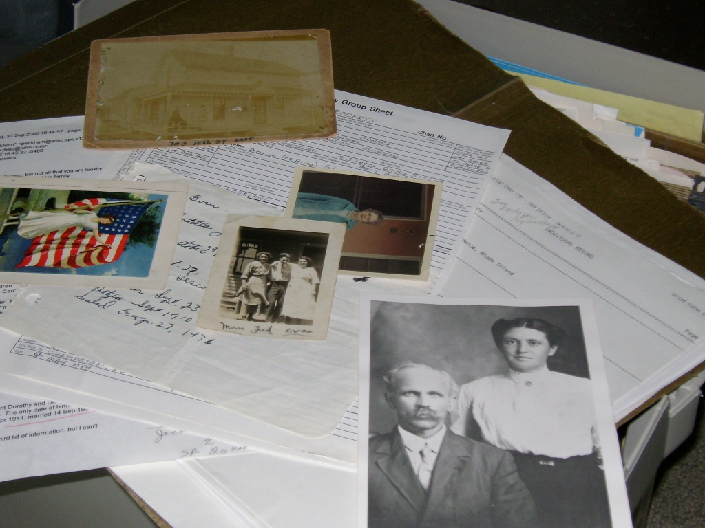 Pictures and documents galore