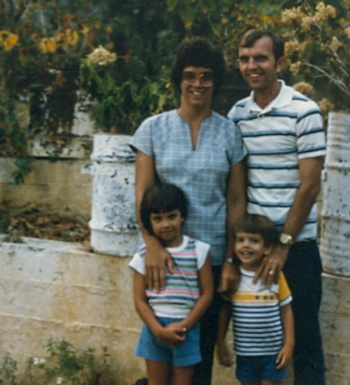 Family group - Cyprus 1980