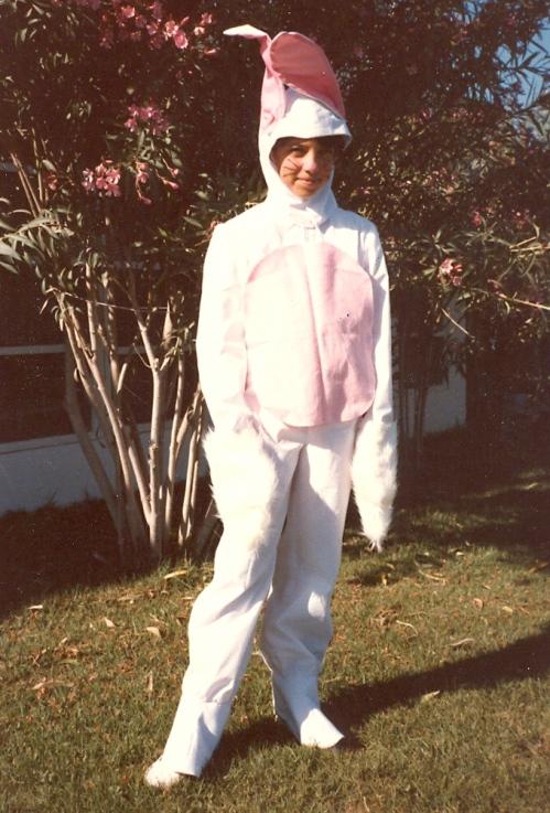 Easter Bunny extraordinaire - 1986