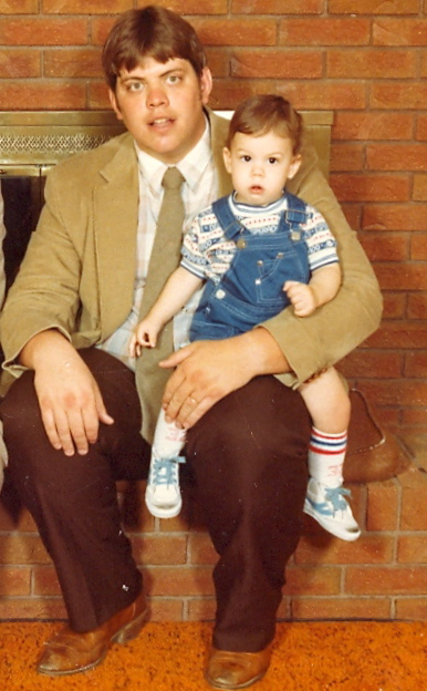 Tom with son, Brandon - 1983
