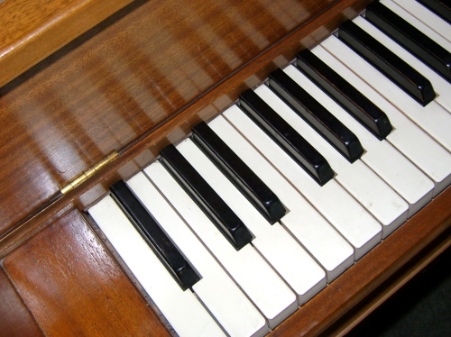 My first - and last - piano