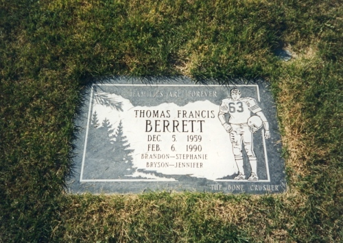 Tom's grave - Sunset Memorial Park - Twin Falls, Idaho