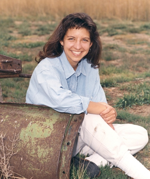 High school senior - 1993