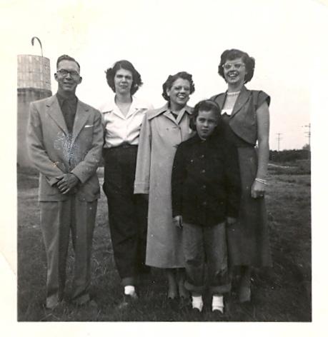 Pratt family - August 1949
