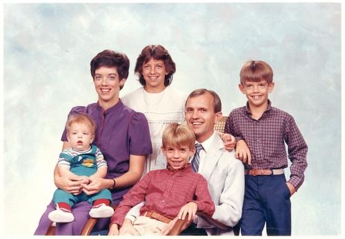 Butler family - November, 1985