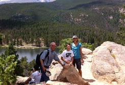 Don, Jack, Emily on hike