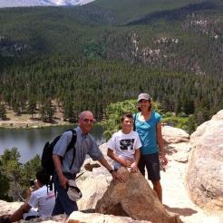 Don, Jack, Emily on hike